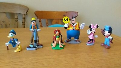 Disney Store Toy Figures Mickey Mouse & friends Donald Minnie Goofy Pluto Pete