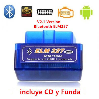 Diagnosis Multimarca para coche V2.1 Mini ELM327 OBDII Bluetooth Android ODB2