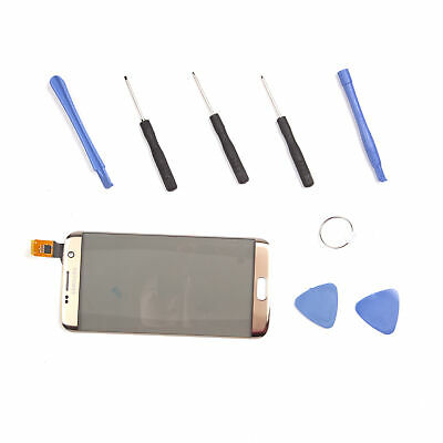 Touch Screen Digitizer Glass Cover+Free Tools For Samsung Galaxy S7 Edge G935 UK