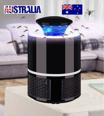 Electric LED Light Fly Bug Zapper Trap Catcher Lamp USB Mosquito Insect Killer
