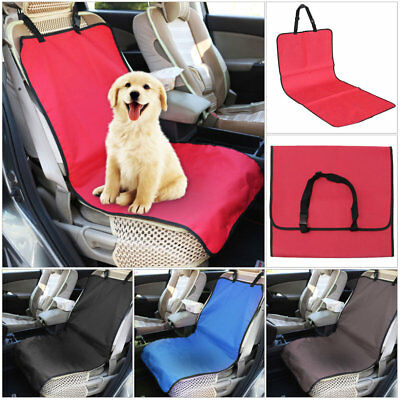 New Portable Back Car Seat Cover Bench Protector Mat Blanket for Pet Cat Dog