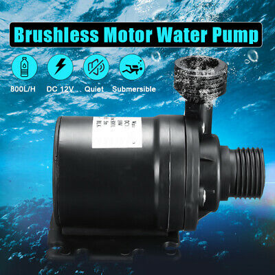 DC 12V 800L/H Lift 5M Solar Brushless Motor Hot Water Circulation Water Pump New