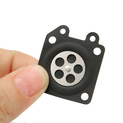 10X Cloth Rubber Black Metering Diaphragm Replaces for Walbro 95-526 1 x 1.2'' L