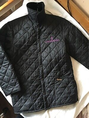 BARBOUR Made in England Genuine Mens Bomber Jumper Jacket ! NEVER WORN !!!