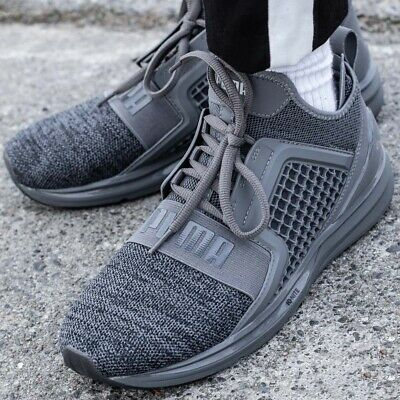 PUMA IGNITE LIMITLESS chaussures hommes sport loisir gris sneakers189987 06