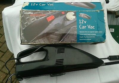 Vintage 1980s Woolworths 12v car vacuum cleaner hoover retro car prop Ford Nova