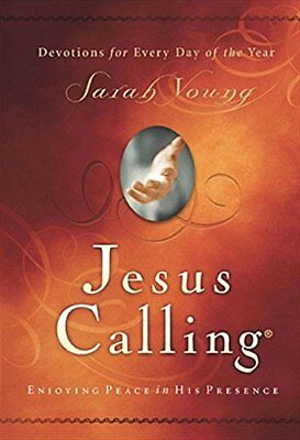 Jesus Calling Enjoying Peace in His Presence Scripture by Sarah Young Hardcover