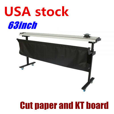 """USA stock 63"""" Manual Large Format Paper Trimmer Cutter with Support Stand"""