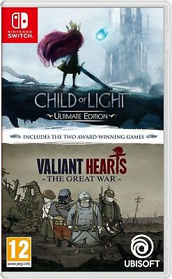 Child of Light/Valiant Hearts Double Pack SWITCH *PRE-ORDER* Releases 01/02/19