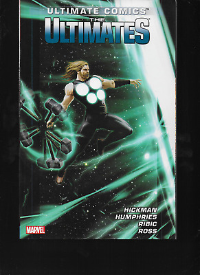 Ultimate Comics: The Ultimates Vol 2 by Jonathan Hickman 2013, TPB Marvel OOP