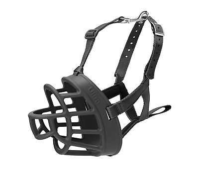 Baskerville Ultra Basket Dog Muzzle – The Company of Animals - Adjustable and