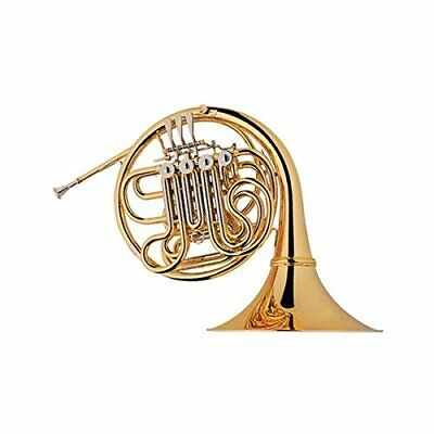 4 Key Double French Horn Outfit Bb/F Key, Case, Cleaning Cloth, Mouthpiece