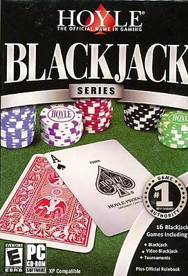 Hoyle Blackjack Series PC Games Windows 10 8 7 Vista XP Computer black jack card