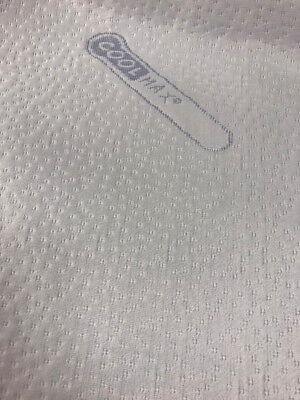 """Coolmax Zipped Fully Encased Mattress Cover 6"""" Deep"""