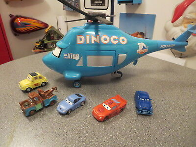 Disney Pixar Cars Dinaco 14 Inch Talking Helicopter The King