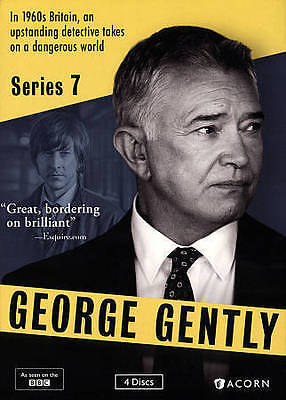 George Gently, Series 7, Season 7 (4-Disc DVD Set), NEW, Sealed, Ships 1st Class