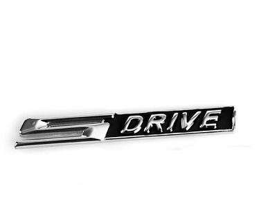 sDrive S Drive Badge - Metal Chrome 3D Emblem -  X1 X3 X5 Z4 Series BMW