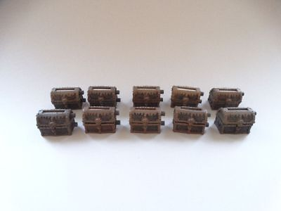 10 Mage Knight Dungeons Treasure Chest #1179 D&D