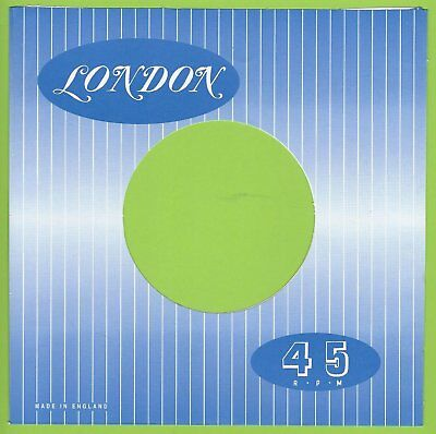 LONDON REPRODUCTION RECORD COMPANY SLEEVES - (pack of 10)