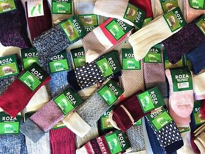 3 Pairs women ladies luxury bamboo wool high quality thermal long SOCKS  SNVLR