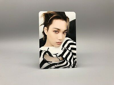 EXO Official Album LOVE SHOT Photocard - LOVE ver. - KAI WITH TRACKING