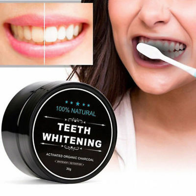 Professional Teeth Whitening Powder Natural Organic Activated Charcoal Bamboo To
