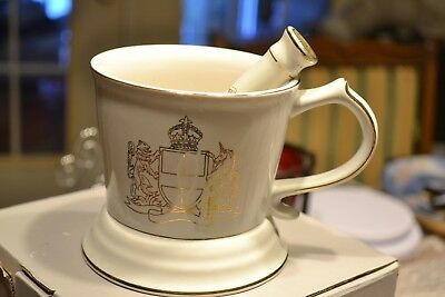 Royal London Gentlemans Gifts Razor Shaving Brush Mug and Razor