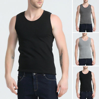 New T-shirt Girdle Casual Tank Bodybuilding Top Vest Sleeveless Muscle Singlet