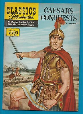 Classics Illustrated Comic Book # 9 Caesar's Conquests  #332