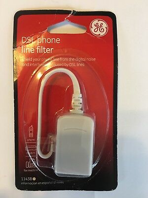 GE DSL Fax Machine Modem  Phone Line Filter 11438