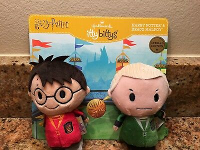 Hallmark Itty Bitty Bittys HARRY POTTER & DRACO MALFOY SPECIAL EDITION BRAND NEW