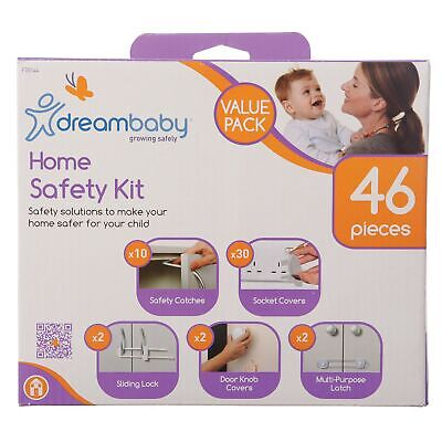 Dreambaby Baby / Kids Household Safety Kit Value Pack 46 Pieces  F70144