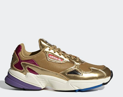 size 40 07580 fb263 Adidas Originals Falcon CG6247 - Gold, Womens Running Shoes Lifestyle  Sneaker