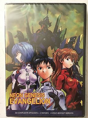 Neon Genesis Evangelion Complete DVD English1-26 End of Evangelion Death Rebirth