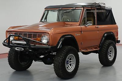 1970 Ford Bronco High-End Build, 427Ci 590Hp Over $175K Invested!