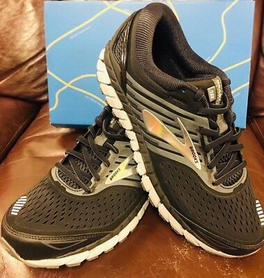 5fb46c6b3f35c Brand New In Box Brooks Beast 18 Mens Running Shoes Black Grey Silver 004