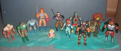 Vintage: ThunderCats – Lot of 12 Action Figures Some Weapons (Used)
