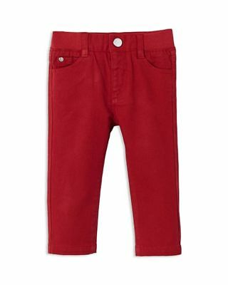 JACADI KIDS Boys Children Red Skinny Jeans Size 4 years or 10 years