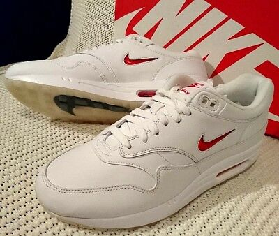 uk availability 7ccd7 06324 Nike Air Max 1 Jewel Rare Ruby    918354104    SIZE  US 10.5
