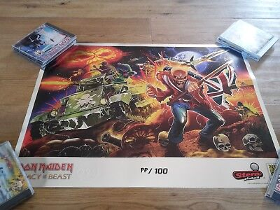 Legacy Of The Beast Lithograph 2018 Pinball IRON MAIDEN SDCC Comic limited NEW