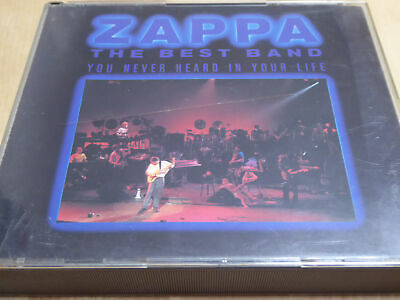 Frank Zappa - The Best Band You Never Heard In Your Life - VG+ (2CD)