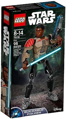 Lego 75116 Star Wars Finn Buildable Action Figure Episode IX Retired Sealed