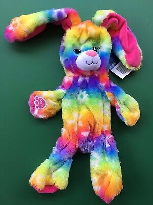 Build a Bear 16 in. Retired Plush Bright Blooms Bunny Plush - Unstuffed - NWT