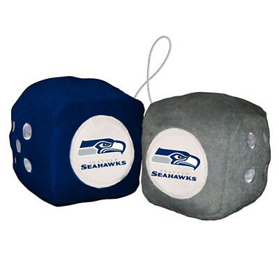 FREMONT DIE Inc Seattle Seahawks Fuzzy Dice Fuzzy Dice