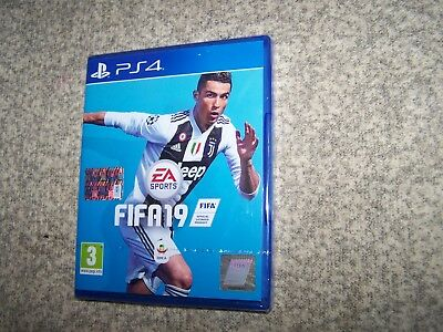 Fifa 2019 19 Sony Ps4 Playstation 4 Nuovo Sigillato New Sealed Pal Ita