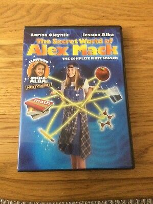 The Secret World of Alex Mack - Season 1 (DVD, 2007, 2-Disc Set)