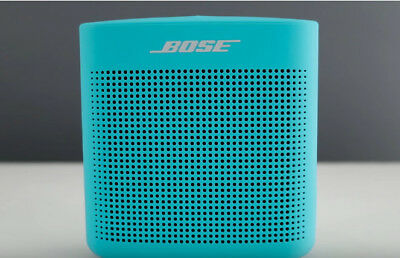 Bose SOUNDLINK COLOR BLUETOOTH SPEAKER II Water Resistant AQUATIC BLUE