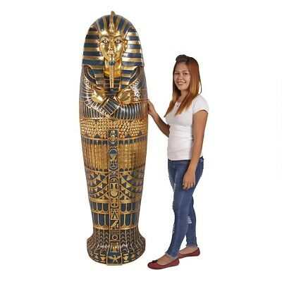 Life size Ancient Egyptian King Tut's Tombs Wall Frieze Decor