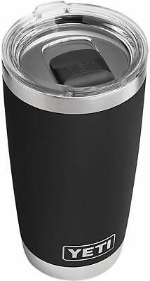 Rambler Stainless Steel Vacuum Insulated Tumbler with Magslider Lid, 20 oz Black