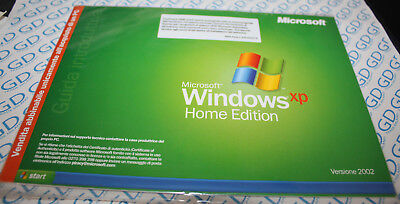 CD Licenza License Microsoft Windows XP Home Edition OEM service Pack 2 2002